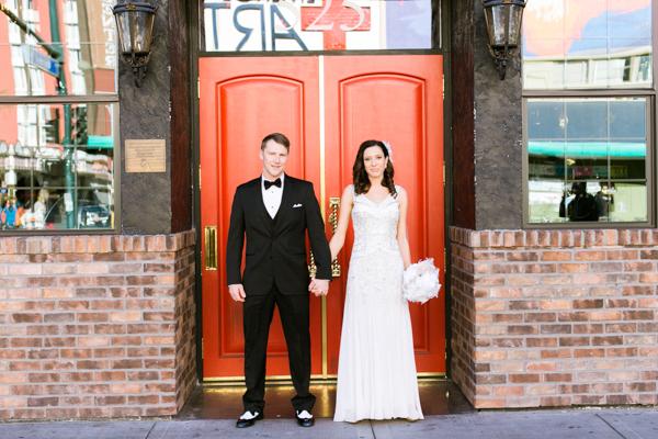 1920s Gatsby Inspired Wedding | Little Vegas Wedding