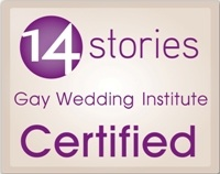 14 Stories Gay Wedding Institute Certified 2012