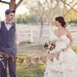 Romantic Las Vegas Garden Wedding | Photos by Weddings by Scott