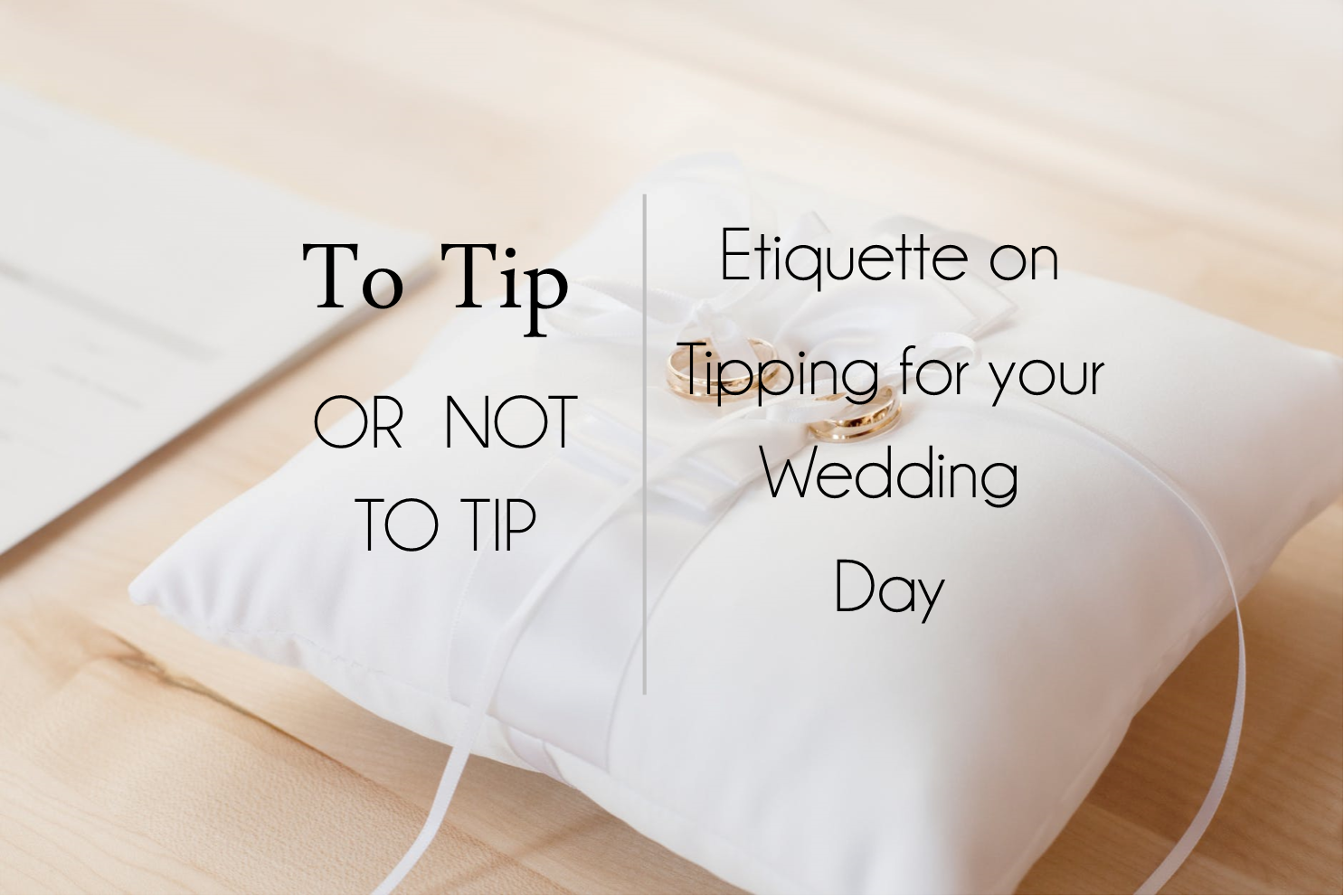 wedding day gratuity etiquette | makeup in the 702