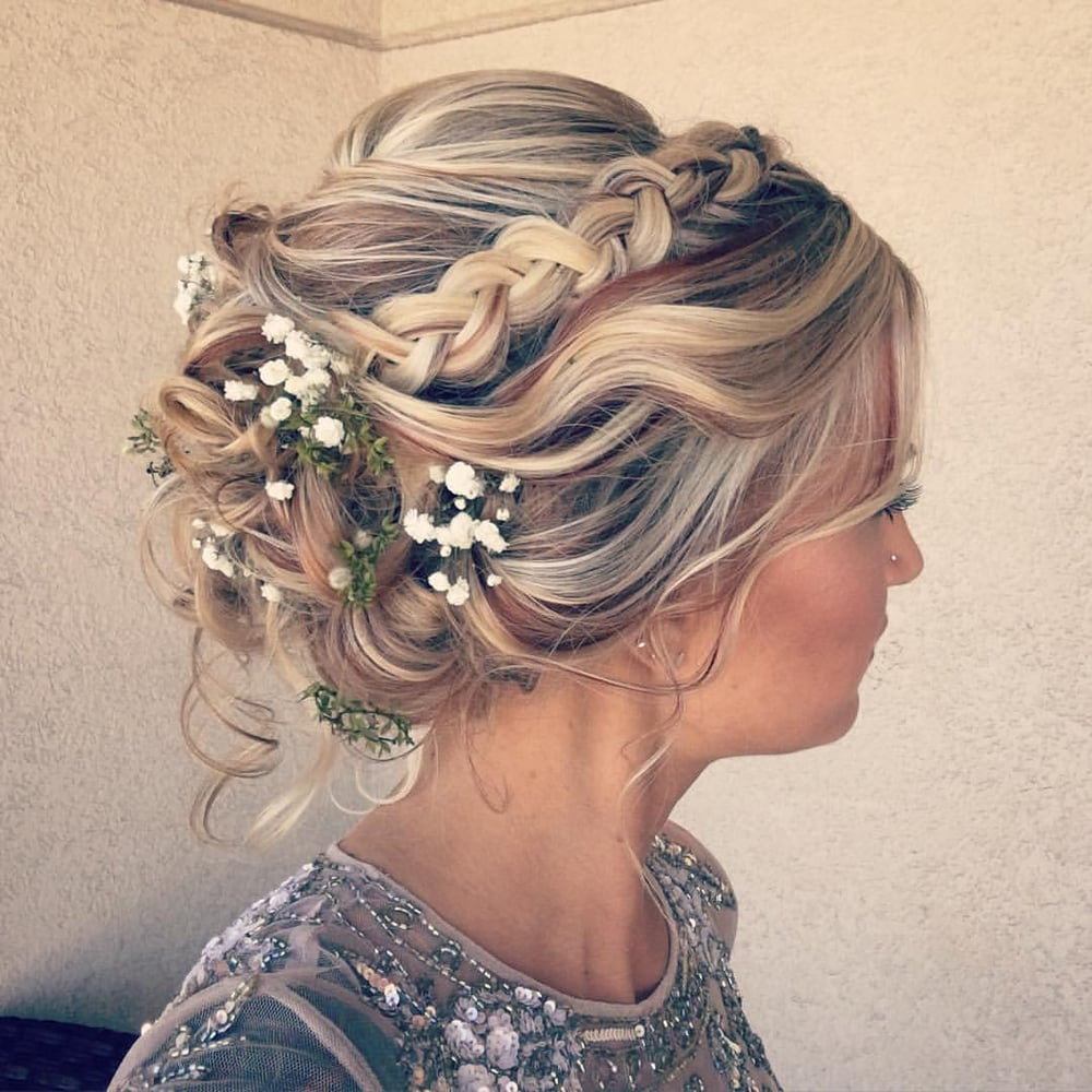 Break Into Spring With These Dreamy Wedding Hairstyles – Makeup in ...